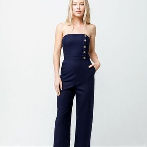 NWT Tilly's Social Gypsy Button Front jumpsuit XS